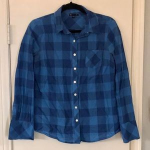 Plaid Gap shirt